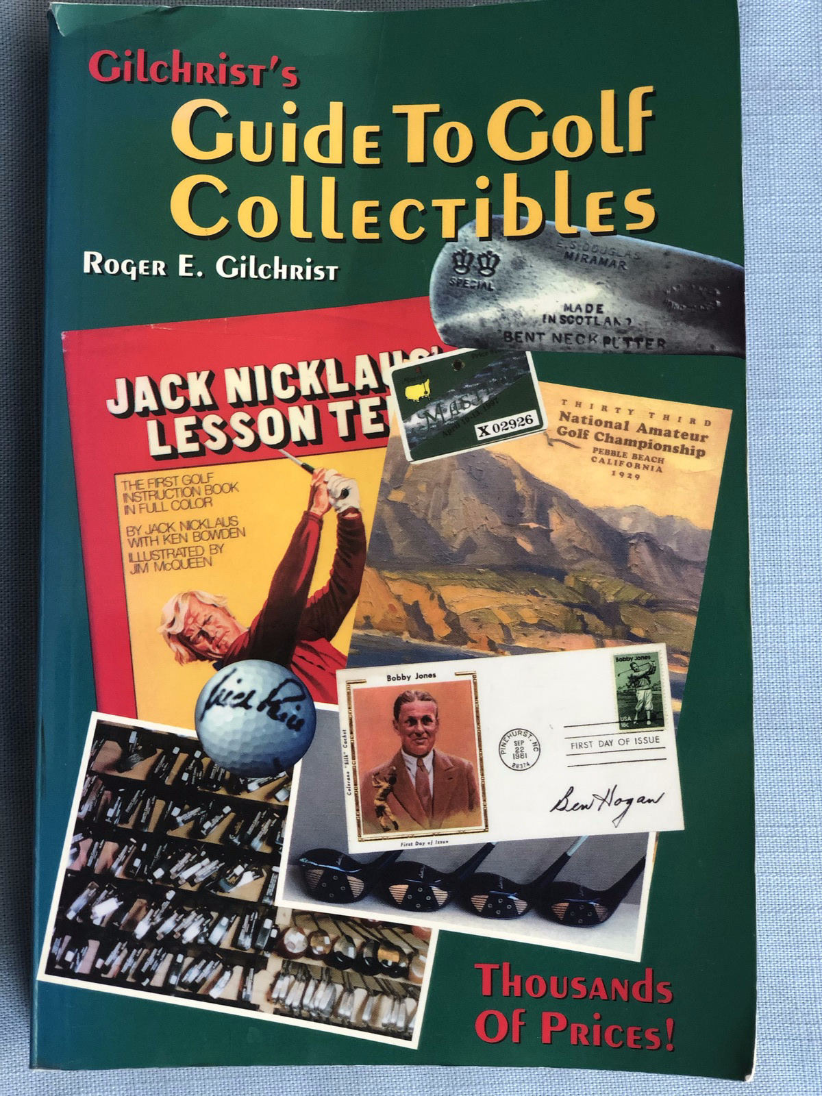 Primary image for Gilchrist's Guide To Golf Collectibles 1998 Paperback