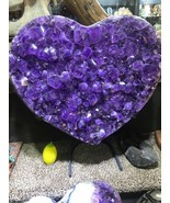 HEART AMETHYST GEODE FROM BRAZIL PIRATE GOLD COINS TREASURES CRYSTAL QUARTZ - $12,000.00