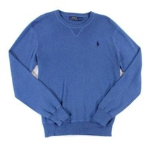 $98 Polo Ralph Lauren Men's Crewneck Sweater - Shale Blue Small - $44.54
