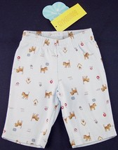 NWT Gymboree Boy's Pale Blue Dog Print Pants, 0-3 Mos., My Favorite Things - $7.99