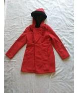 Girls Red Shampoo Winter Pea Coat Size 12/14 - $28.04