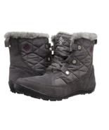 Columbia Minx Shorty Boots Womens Omni-Heat Waterproof Suede Winter Snow... - $61.35