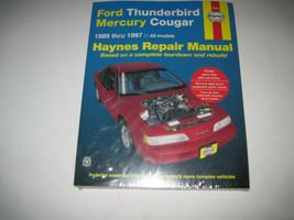 Haynes 36086 Repair Manual for Ford Thunderbird & Mercury Cougar 1989 - 1997 - $18.37
