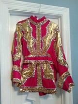 Mardi Gras Renaissance Halloween Theater Ornate Handcrafted Court Costume - $275.00