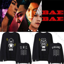 Kpop Bigbang Sweater Made Unisex G-Dragon Taeyang Top Pullover Jumper Ho... - $12.01+