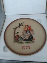 MI Hummel 1978 In Original Box 8th Annual Collector Plate Goebel West Germany - $15.99