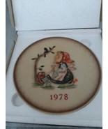 MI Hummel 1978 In Original Box 8th Annual Collector Plate Goebel West Ge... - $15.99