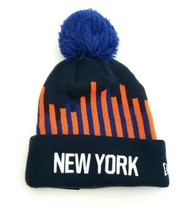 New York Knicks NBA New Era NBA 2019 City Edition Pom Cuffed Knit Hat Na... - $29.69