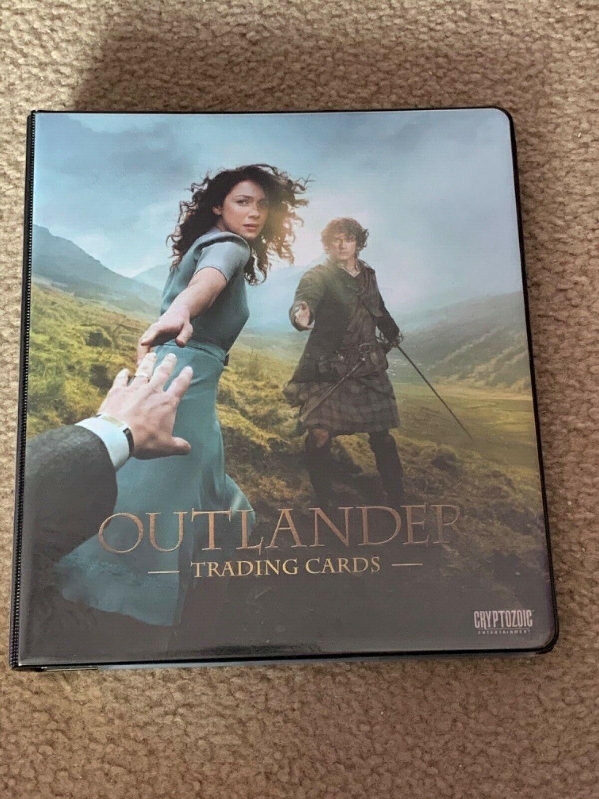 Outlander Season 1 Binder Wardrobe M37 B1 Promo Chase Base