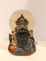 Retired Dept 56 GRIMSLY WATER GLOBE Halloween GRIMSLY MANOR 5232 - $39.99