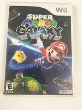 Super Mario Galaxy Nintendo Wii 2007 Manual Disk Case - $27.72