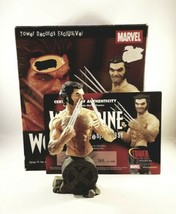 Wolverine Logan Bust Marvel Universe Statue Tower Records Exclusive COA - $74.25