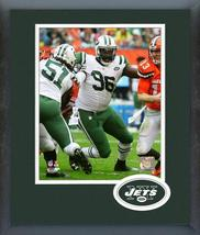 Muhammad Wilkerson 2016 New York Jets -11x14 Logo Matted/Framed Photo - $42.95