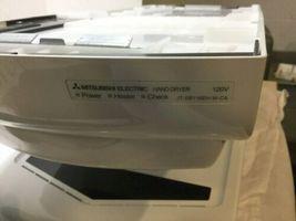 New Mitsubishi Jt-sb116eh-w-ca White Electric Air Blast Hand Dryer image 5