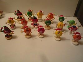 17 Vtg M&M Mars, Inc. Vinyl & Plastic Figurine Ornaments Toppers - $41.58