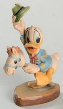 Disney Donald Duck Woodcarving Anri Italy 4 inches tall - $449.00