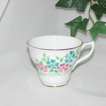 ROSINA HAND PAINTED BONE CHINA TEACUP CUP ONLY no saucer FLORAL VINTAGE ... - $4.92