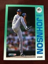 1992 Fleer - Randy Johnson #283 - $0.99