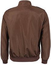 Men's Athletic Lightweight Water Resistant Slim Fit Racer Jacket image 12