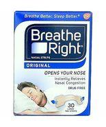 Breathe Right Nasal Strips Original 30 Large Tan Strips - $13.29