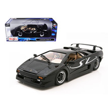 Lamborghini Diablo SV Black 1/18 Diecast Model Car by Maisto 31844bk - $57.81