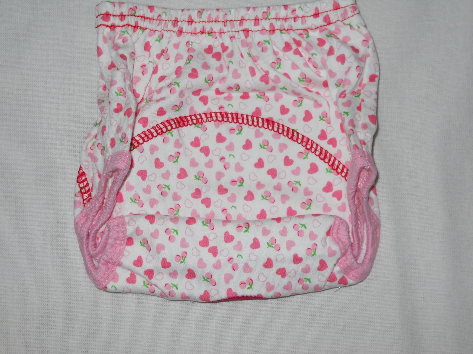 GVESS Set of 3 Baby Toddler Girls Potty Training Pants Reusable Size Medium