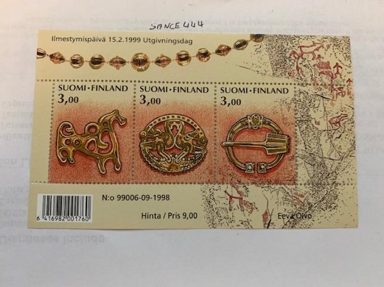 Primary image for Finland 1108 Age Bronze Jewels s/s mnh 1999
