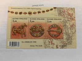 Finland 1108 Age Bronze Jewels s/s mnh 1999 - $3.20