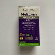 (1) Natrol Advanced Sleep Melatonin 10 mg - 100 Tablets Exp. 02/23 - $15.19
