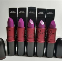 LOT OF 5 MAC Cosmetics Matte Lipstick Viva Glam Ariana Grande GET 5!! - $49.49