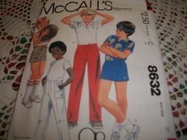 McCall's 8632 Boys' Pants or Shorts Pattern  - $7.00