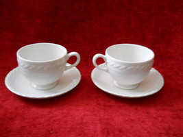 Ralph Lauren Clearwater set of 2 cups and saucers - $6.88