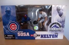 Sammy Sosa/Todd Helton McFarlane Special Edition Deluxe Boxed Set Figure... - $9.89