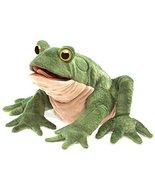 Folkmanis Toad Hand Puppet, Green/Light Tan - $26.99