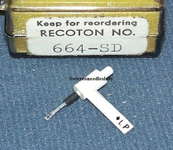 RECOTON 664-SD RECORD PLAYER NEEDLE for RCA 122057 120695 RMP-205-2 650-DS77 image 1