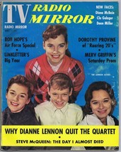 ORIGINAL Vintage December 1960 TV Radio Mirror Magazine Lennon Sisters - $18.51