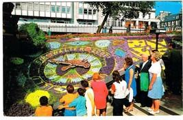 United Kingdom UK Postcard Edinburgh The Floral Clock Sir Walter Scott - $2.36