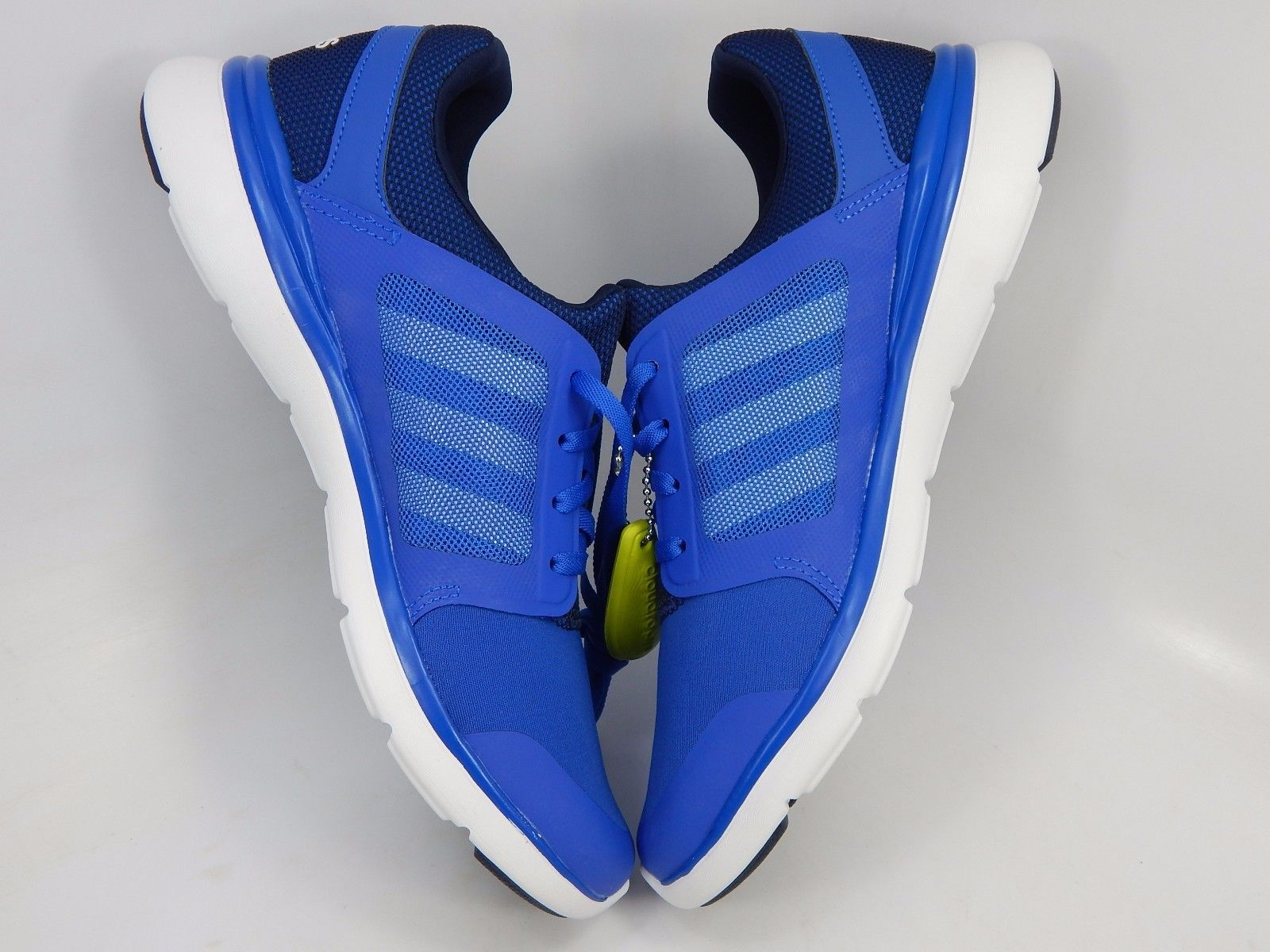Women S Adidas Cloudfoam Xpression Blue Athletic Running Shoes