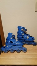 Vibe Roller Blade Skate Shell - No Boot Youth Unknown Size Blue - $13.95
