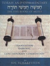 TORAH AND COMMENTARY: The Five Books of Moses-Translation, Rabbinic And ... - $27.95