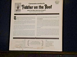 Fiddler on the Roof Record  AA-191744  Vintage Collectible image 2