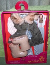 """Our Generation FUN FUR FALL Outfit for most 18""""H Dolls New - $20.88"""