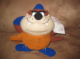 "LOONEY TUNES BASEBALL TAZ PRE-PRODUCTION SAMPLE Plush 10"" RARE PROMO TAG... - $129.99"