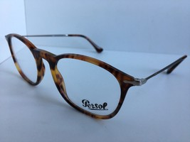 2b3d6cc5f7afb New Persol 3124-V 108 Havana 50mm Rx Eyeglasses Frame Hand Made in Italy -