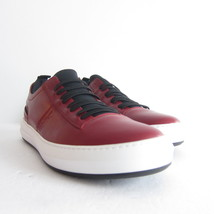P-295239 New Salvatore Ferragamo Red Leather Sneaker Shoes Size US 12 Ma... - $480.25 CAD