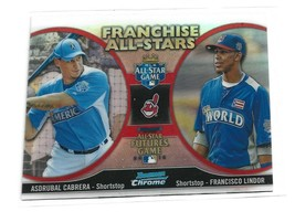 Francisco Lindor 2012 Bowman Chrome Franchise All Stars - $3.25
