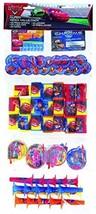Cars Disney Pixar Movie Cartoon Birthday Party Favor 100 pc Mega Mix Value Pack - $40.53