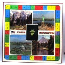 Your America GAME BOARD for Picture Frame Crafting 1970 Coleco Upcyling Decor - $19.79