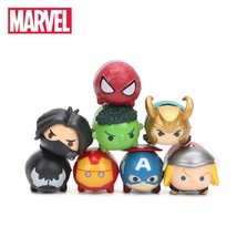 3.5*2cm 8pcs Marvel Toys Tsum Tsum The Avengers 3 Infinity War Spiderman... - $20.56