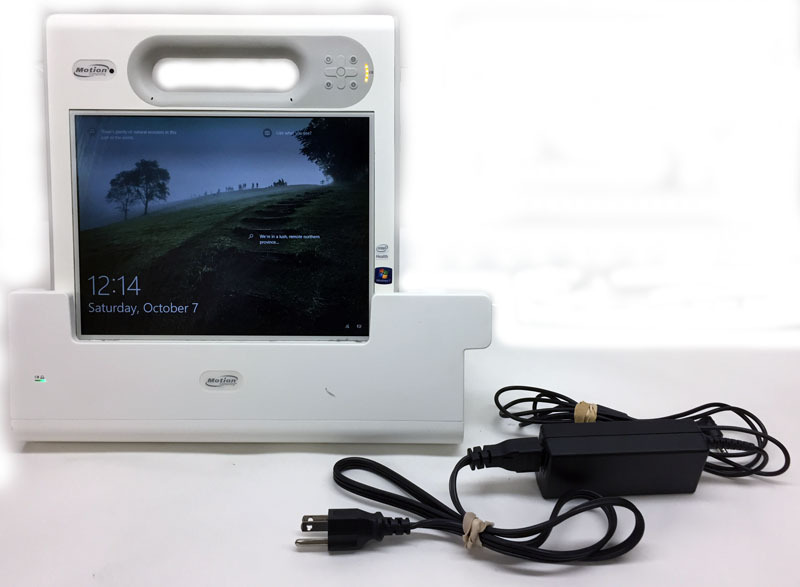 Motion computing c5v tablet 1